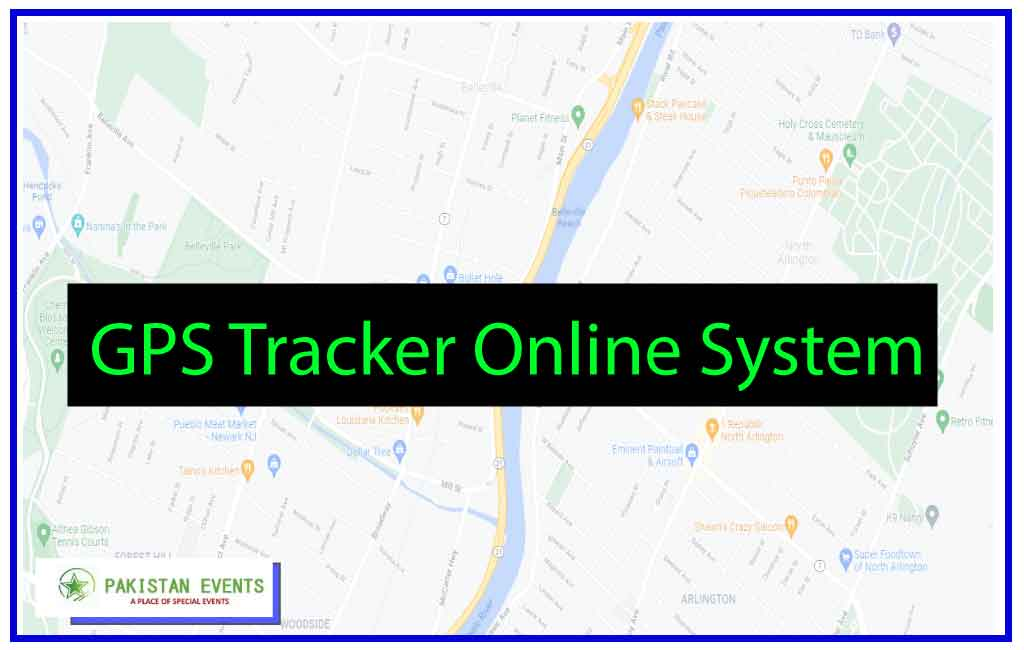 GPS Tracker Online System