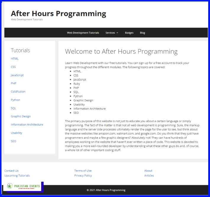 AfterHoursProgramming.com