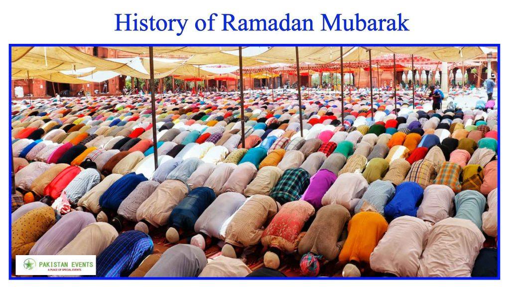History Of Ramzan Mubarak