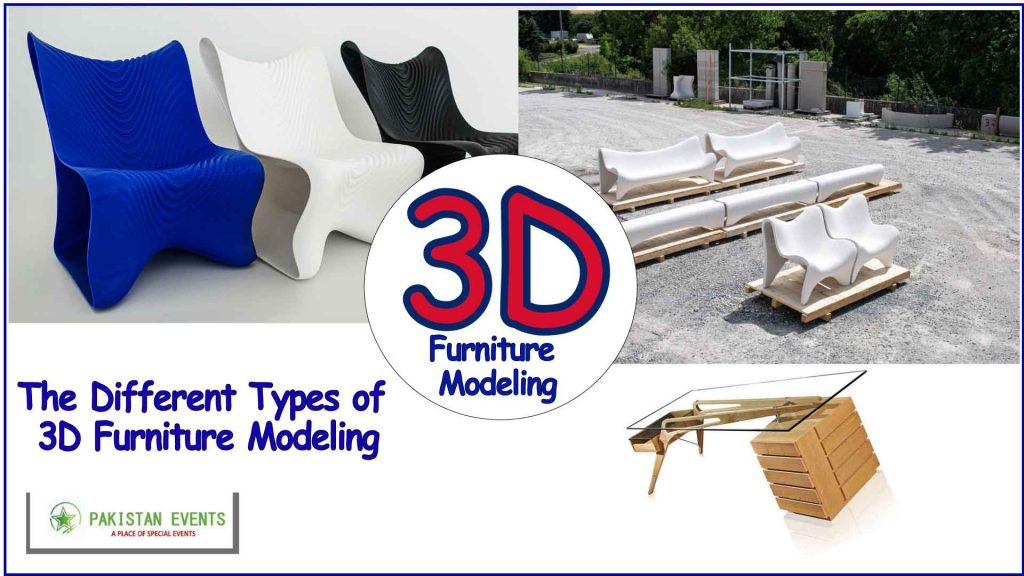 The Different Types of 3D Furniture Modeling