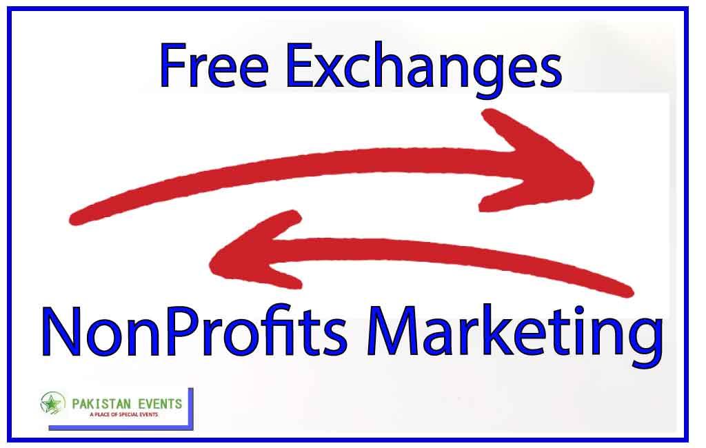 Free Exchanges in NonProfits Marketing